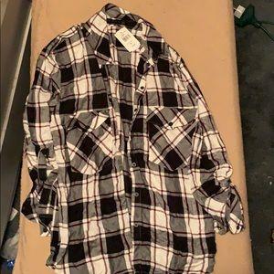 Sanctuary boyfriend shirt